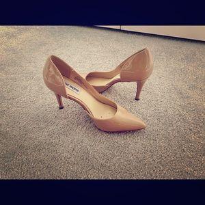 Steve Madden Nude Patent heels